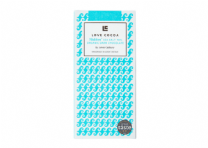 Love Cocoa Maldon Sea Salt Organic Dark Chocolate 80g